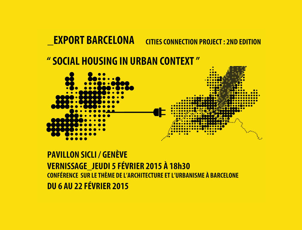 #ajacRECOMANA >>> 20 OBRES CATALANES SERAN EXPOSADES A SUISSA: CITIES CONNECTION PROJECT
